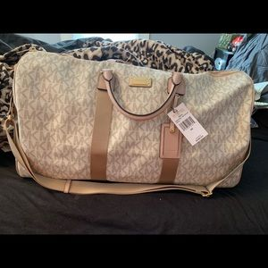 Authentic Michael Kors large duffel bag